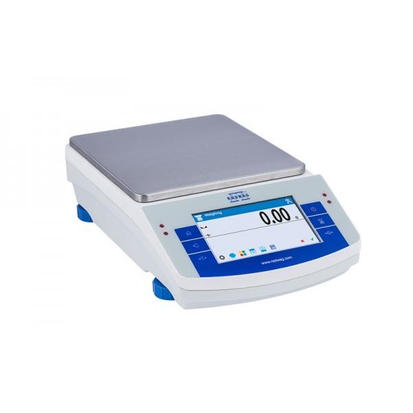 Лабораторные весы с сенсорным дисплеем RADWAG PS1200/X/2 (до 1200 г, точность 0,005 г)