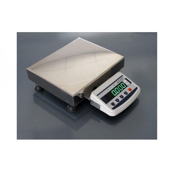 Весы товарные Техноваги ТВ1-60-5-(400х400)-S-12ер до 60 кг, со стойкой