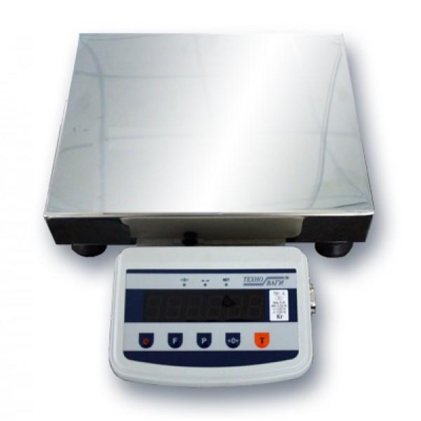 Весы товарные Техноваги ТВ1-30-5-(400х550)-S-12ер до 30 кг