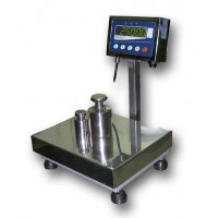 Весы товарные нержавеющие ТВ1-300-100-(600х700)-N-12еh
