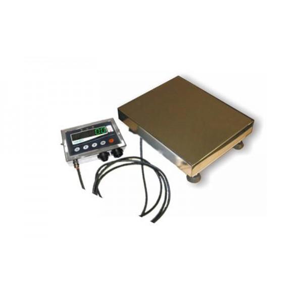 Электронные складские весы ТВ1-200-50-(800х800)-12 еh ТЕХНОВАГИ до 200 кг, дискр. 50 г