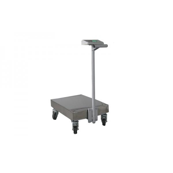 Платформенные весы-тележка ТВ1-150-20-R(400х550)-12ера до 150 кг с точность 20 г