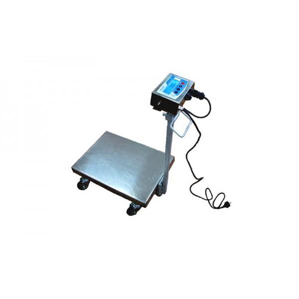 Весы-тележка электронные ТЕХНОВАГИ ТВ1-150-20-R(400х550)-12 ЕHА до 150 кг, дискр. 20 г