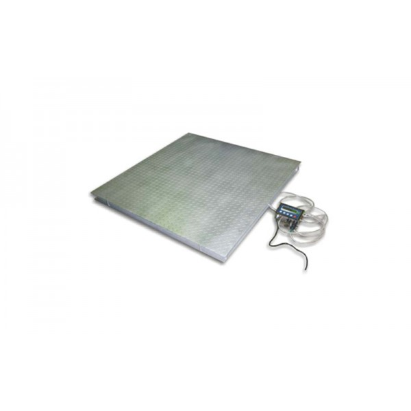 Платформенные весы на 4-х датчиках Техноваги ТВ4-150-0,05-(1000х1000)-12 до 150 кг
