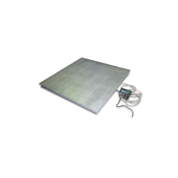 Весы с платформой на 4-х датчиках ТЕХНОВАГИ ТВ4-1000-0,2-(1250х1250)-12 до 1000 кг