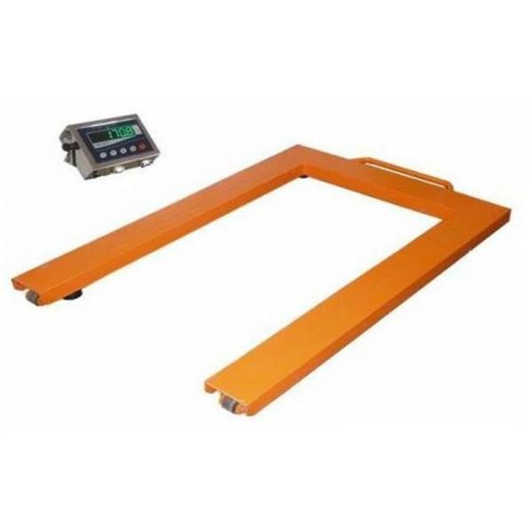 Паллетные весы для склада до 300 кг Техноваги ТВ4-300-0,1-U(1200х800х90)-S-12е