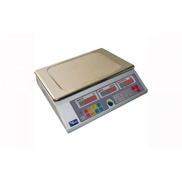 Весы торговые Промприбор ВТА-60/6-6-А-С CИ до 6 кг, счетные
