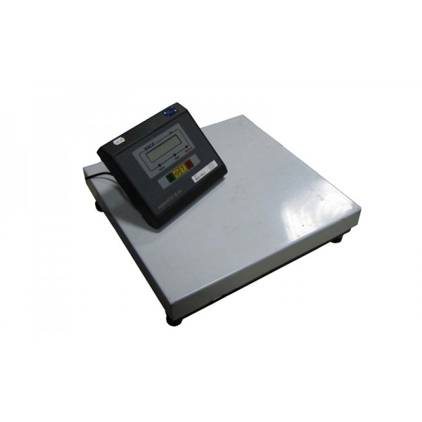 Весы товарные Промприбор ВН-100-1D-А ЖКИ до 100 кг (400х400 мм), без стойки