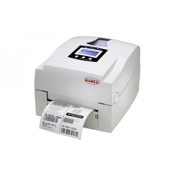 Термотрансферный настольный принтер для этикеток Godex EZPi-1200 со встроенным LCD дисплеем