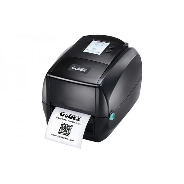 Термотрансферный принтер этикеток Godex RT860i, цветной дисплей, USB Host, 600 dpi