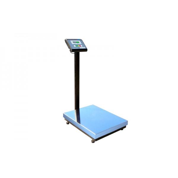 Весы товарные Промприбор ВН-300-1-А ЖКИ до 300 кг (500х600 мм), со стойкой