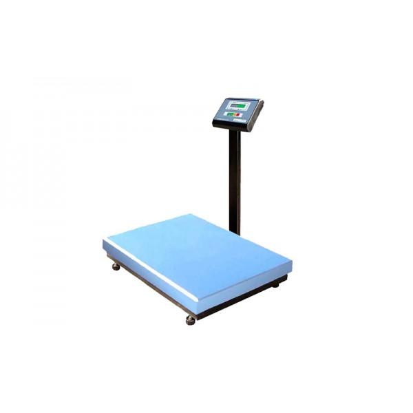 Весы товарные Промприбор ВН-500-1-А ЖКИ до 500 кг (800х800 мм), со стойкой