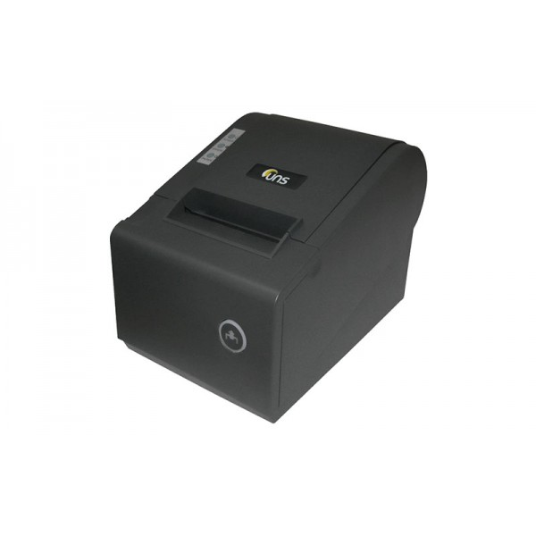 Принтер чеков Unisystem UNS-TP61.01 с автообрезчиком, черный