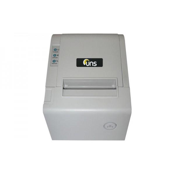 Принтер чеков Unisystem UNS-TP61.01 с автообрезчиком, белый