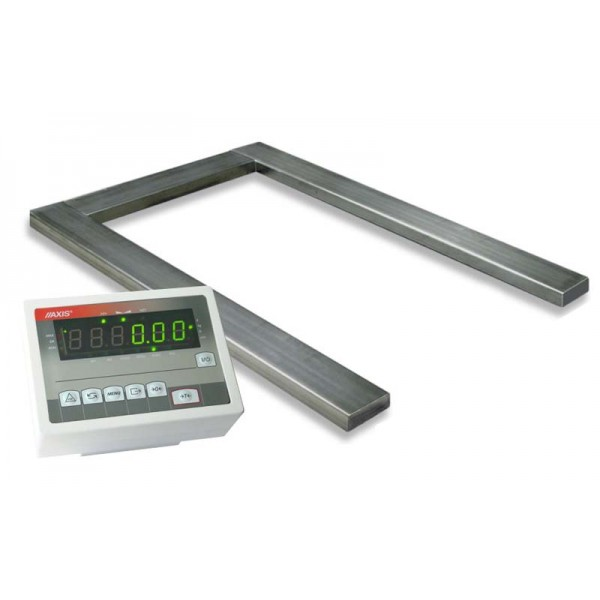 Паллетные весы под гидравлическую тележку 4BDU-П (1260х840мм) НПВ: 600кг ПРАКТИЧНЫЕ