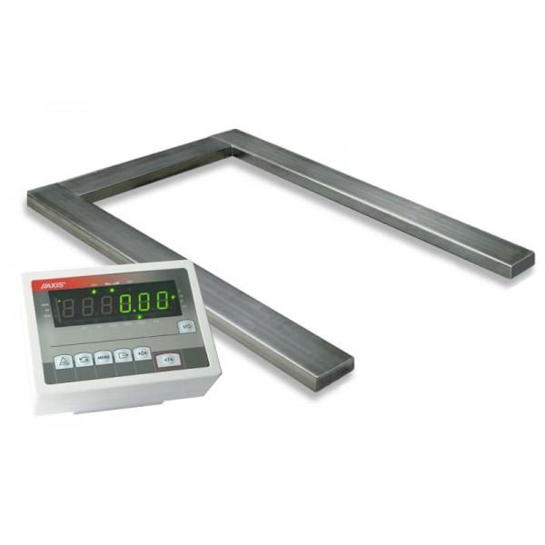 Весы паллетные под погрузчик 4BDU-П (1260х840мм) НПВ: 2000кг ПРАКТИЧНЫЕ