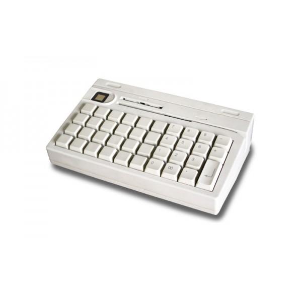 Клавиатура программируемая POSIFLEX KB-4000U (белая) USB