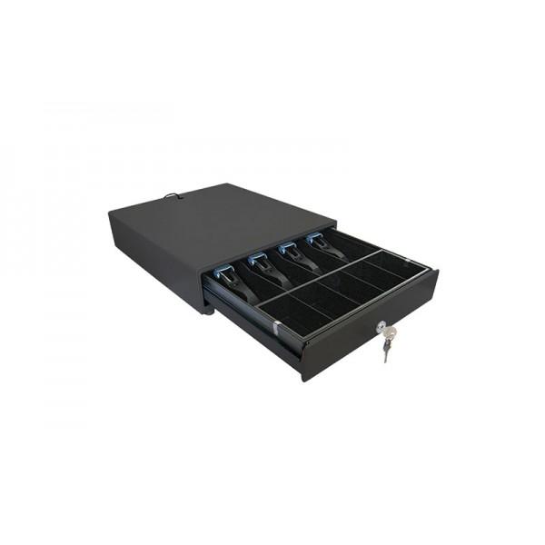 Денежный ящик Unisystem UNIQ-CB35.02 (черный)