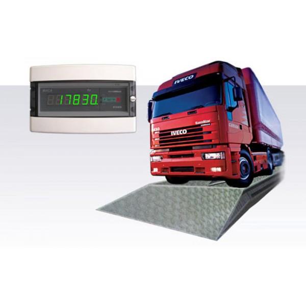 Электронные автомобильные весы (4 датчика) Промприбор BEAT-30-8 до 30 т, 8х3 м