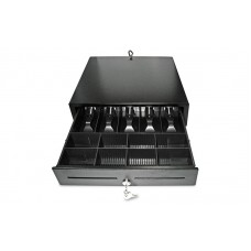 Компактный денежный ящик Unisystem UNIQ-CB41.01 (черный)