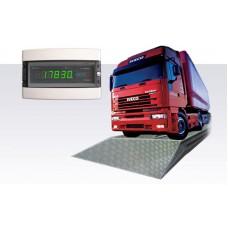 Автомобильные электронные весы с фундаментом ПРОМПРИБОР BEAT-60-18/3; НПВ=60 т, 18х3 м