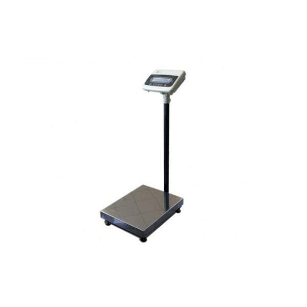 Напольные электронные весы со стойкой ШТРИХ МП 300-50.100 АГ3И (POS2) до 300 кг, точность 50/100 г