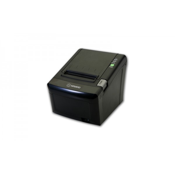 Принтер для печати чеков Sewoo LK-TE122 UP (USB+LPT); черный/серый