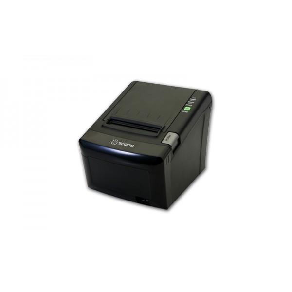 Принтер печати чеков SEWOO LK-T12 UЕ (USB+Ethernet) черный/серый