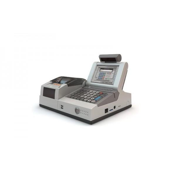 Бюджетный POS-терминал Штрих miniPOS II (версия 001) с инфракрасным детектором валют; белый
