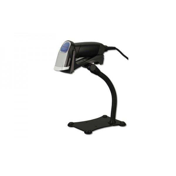 Ручной лазерный сканер штрих-кодов Opticon OPR-3201 с подставкой