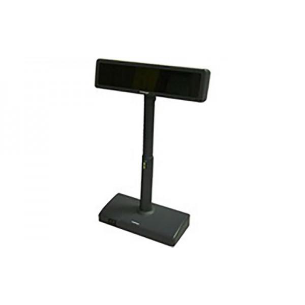 Posiflex двухстрочный дисплей покупателя PD-2300 (RS-232), черный