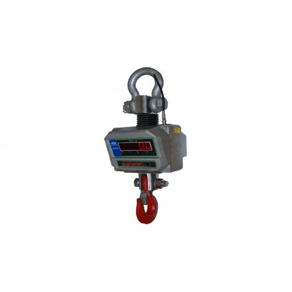 Крановые электронные весы на кран балку OCS-1t, НПВ: 1000 кг, точность 1 кг