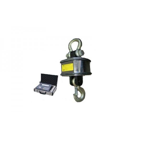Крановые весы для работы на улице, в помещении OCS-5W-RK, НПВ: 5000 кг, точность 2 кг