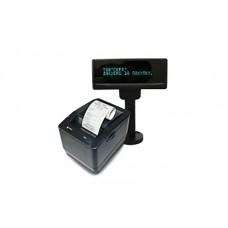 MG-T808TL фискальный регистратор (черный) с индикатором клиента