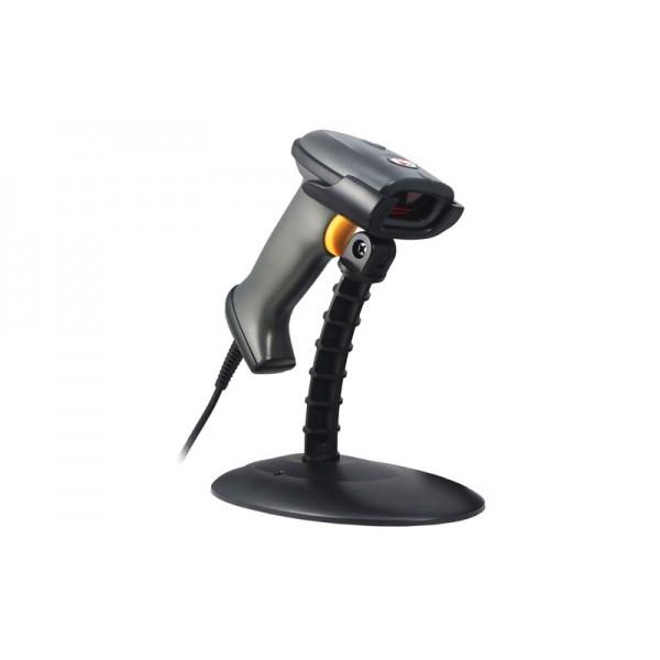 Недорогой лазерный сканер штрих-кодов SunLux XL626A RS-232 (с подставкой)