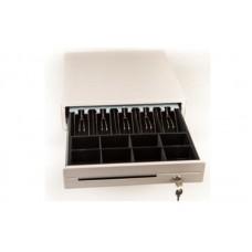 Денежный ящик Резонанс СК-410 светло-серый