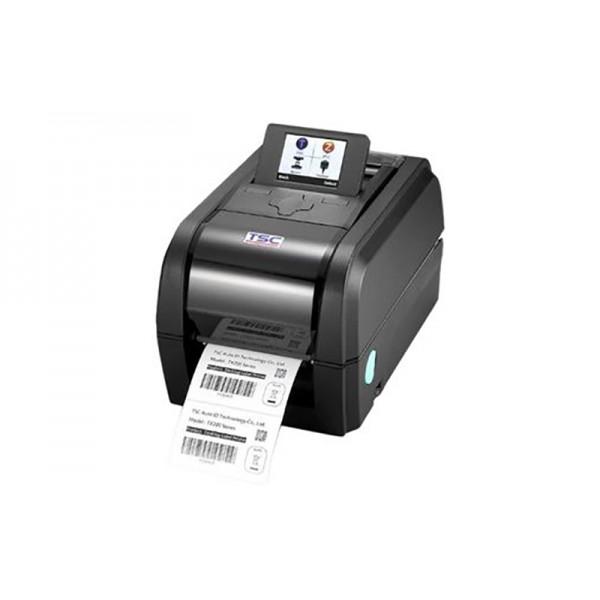 Бюджетный термотрансферный принтер для маркировки продукции TSC TX200 скорость печати 203 мм/с