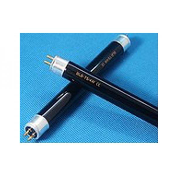 Трубчатая универсальная УФ-лампа VITO T5 4W BLB для детекторов валют, черное стекло