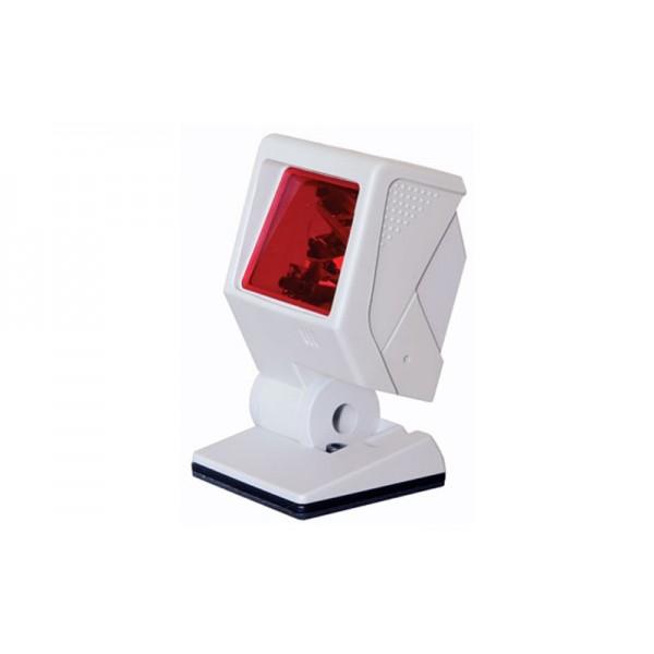 Многоплоскостной лазерный сканер штрих-кодов Metrologic MK 3580 Quantum USB белый