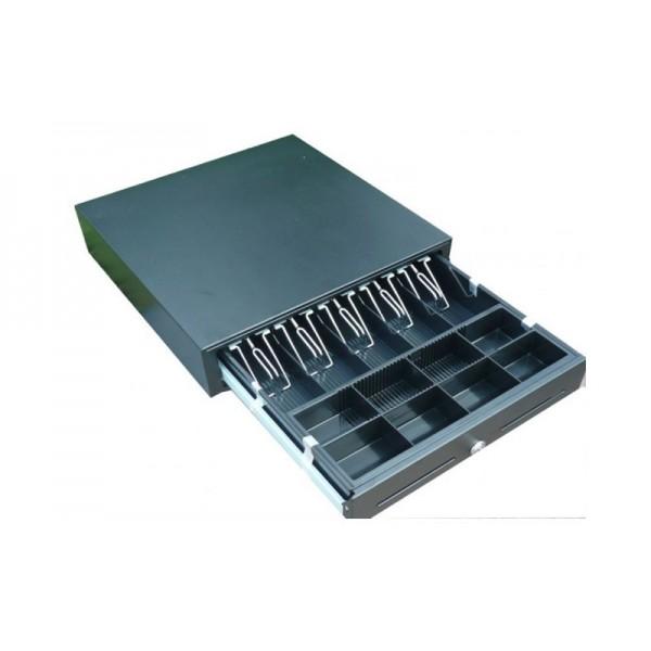 Большой денежный ящик SI-420R (HS-410A) черный