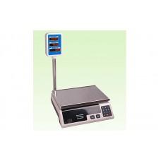 Торговые электронные весы со стойкой ACS-15А до 15 кг, дискретность 5 г