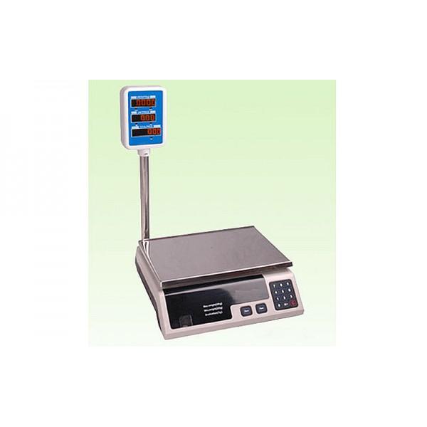 Электронные торговые весы со стойкой ACS-30А до 30 кг, дискретность 5 г