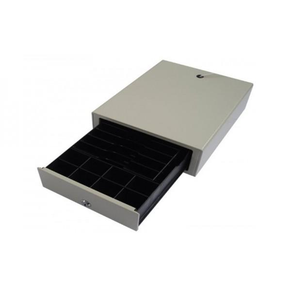 Маленький денежный ящик BDR-50V (HS-240B) белый