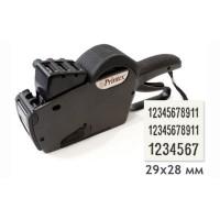 Трехстрочный этикет-пистолет Printex 29x28 (11+11 буквы и цифры + 7 цифры)