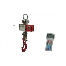 Крановые электронные весы с радиоканалом ВКР-3; НПВ: 3000 кг, точность 1 кг