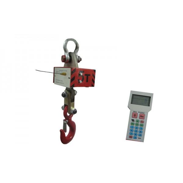 Радиоканальные крановые весы ВКР-10; НПВ: 10000 кг, точность 1 кг