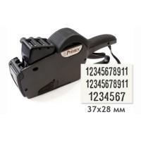 Трехстрочный этикет-пистолет Printex 37x28 (11+11+7 цифры)