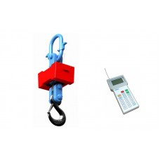 Ударостойкие электронные крановые радиоканальные весы MIKA ЕрМак ВК1рк до 10т, точность 5 кг