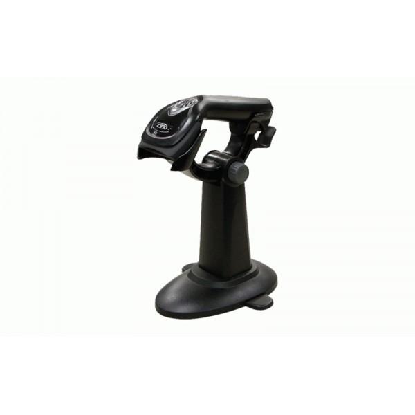 Ручной сканер для штрих кодов Cino F560 черный (PS/2) и подставка Hands-Free Smart Stand