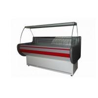 Холодильная витрина АйсТермо ВХСК Лира 1.3 М, (1,3х0,83 м), от +2 до +8°С; эконом, выпуклое стекло